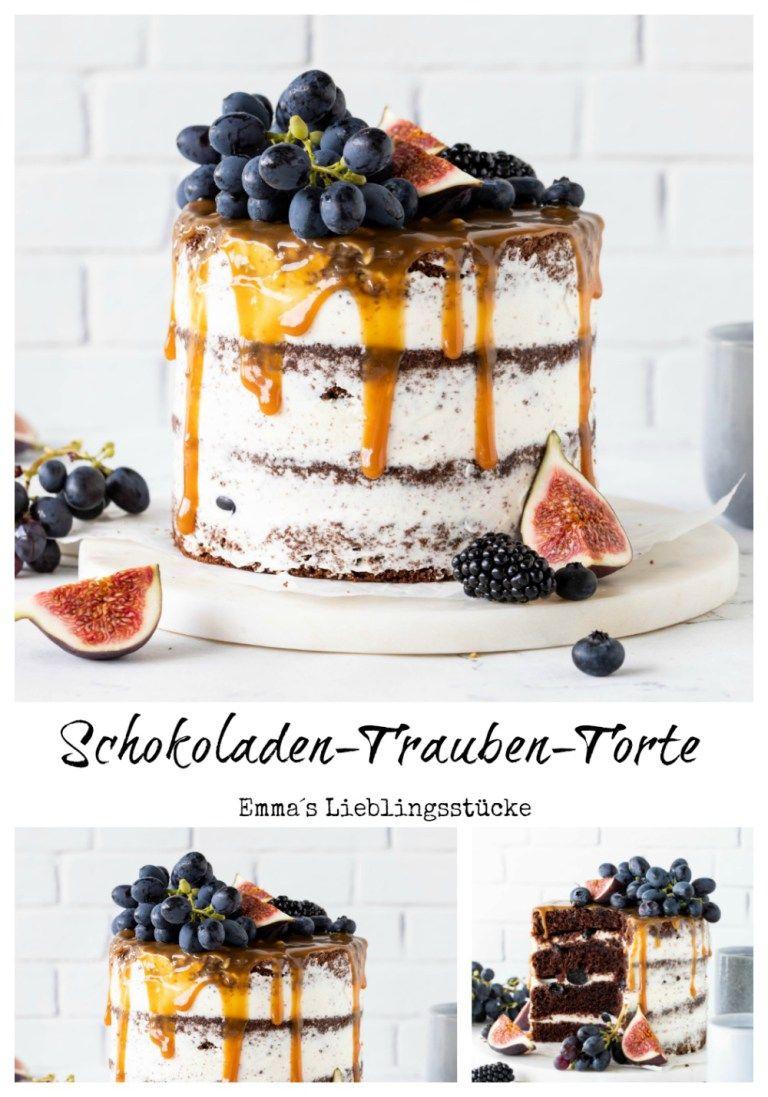 Photo of Schokoladen-Trauben-Torte – Emma's Lieblingsstücke