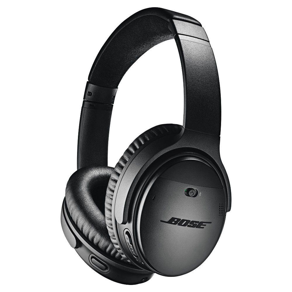 Bose Quietcomfort 35 Wireless Headphones Ii Android Ios Black In 2020 Best Noise Cancelling Headphones Bose Headphones Wireless Noise Cancelling Headphones