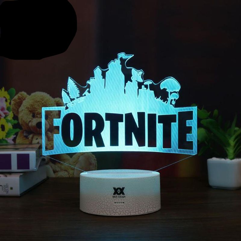 Fortnite 3d Lamp Poke Crystal Rgb Changeable Mood Lamp 7 Color Light Base Cool Night Light Price 33 80 Free Shipping Mood Lamps 3d Lamp Light Colors