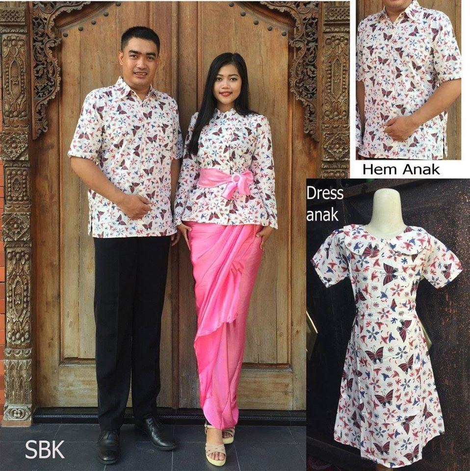 Model Baju Batik Modern Yang Trendi Dan Baju Batik Keluarga Modern 2016 Sbk e5c49e8c73