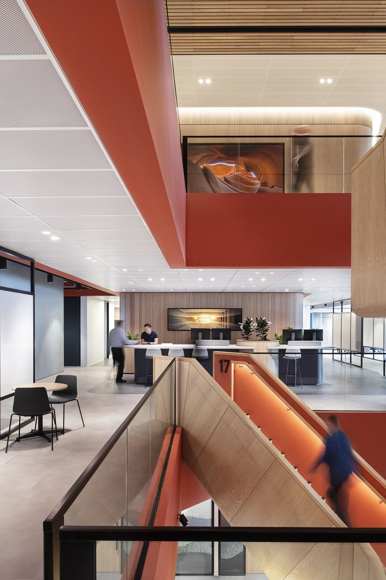 A Tour Of Qbe Insurance S New Melbourne Office Corporate Interiors Office Interiors Workplace Design