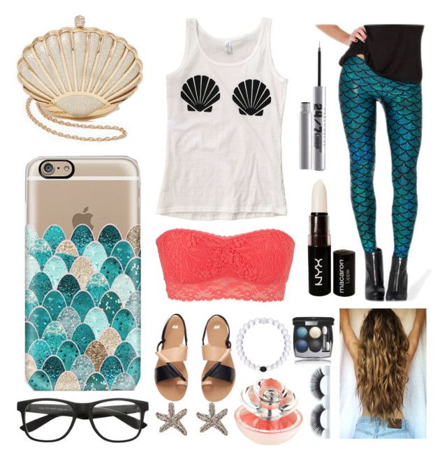"""""""shells & scales"""" by kaitlyngibson on Polyvore featuring Casetify, maurices, H&M, NYX, Guerlain, Chanel and Urban Decay"""