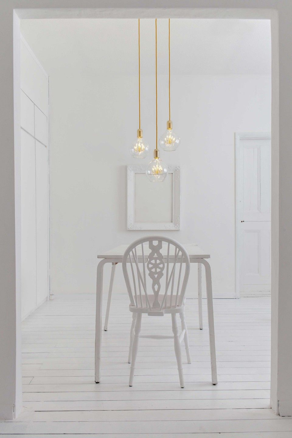 Wonderful Our Stunning Gold King Edison Trio Pendant Lamp By Mineheart Features A  Trio Of Pendants Each