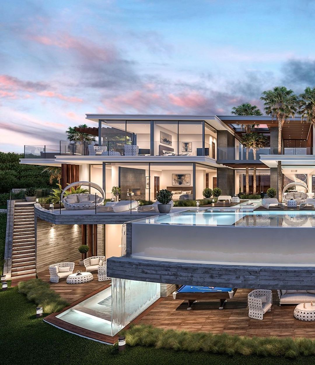 Houses On Instagram Listed By Masproperty Marbella 7 Bedroom 9 Bathroom Villa For Sale In L Luxury Homes Dream Houses Luxury Houses Mansions Mansions