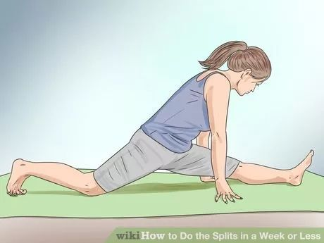 do the splits in a week or less  how to do splits dance