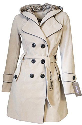 986 Damen Designer Wollmantel Winter Mantel Trenchcoat Wintermantel ...