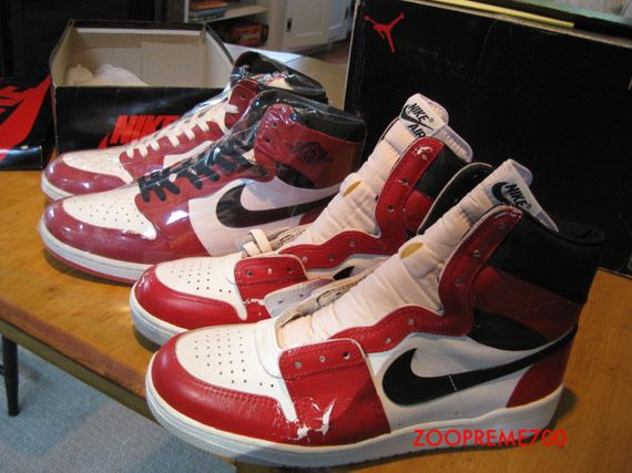 Jordan Air 1 Big Nike Prototype 1984 John qzLUpGSMV