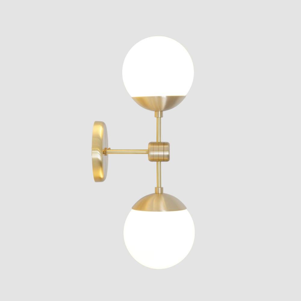 The New Antique Store Modern Single Globe Brass Wall Sconce Brass Wall Lamp Vanity Light Bathroom Lights Brass Wall Lamp Brass Wall Sconce Sconces