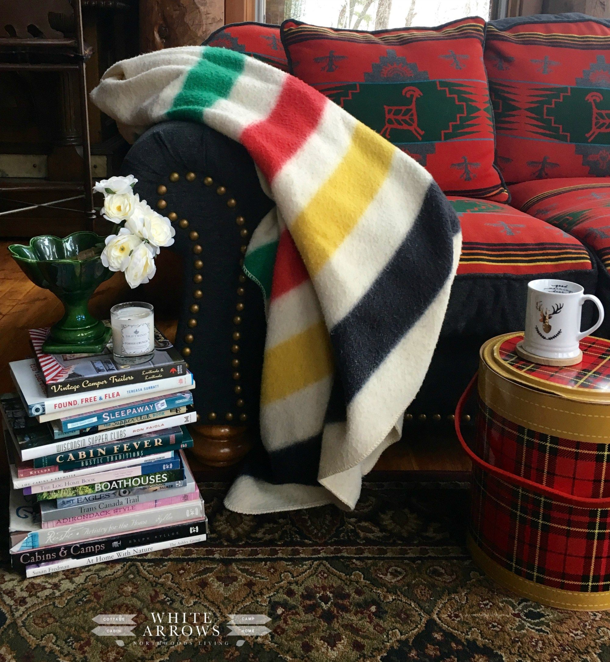 white pine coffee table books