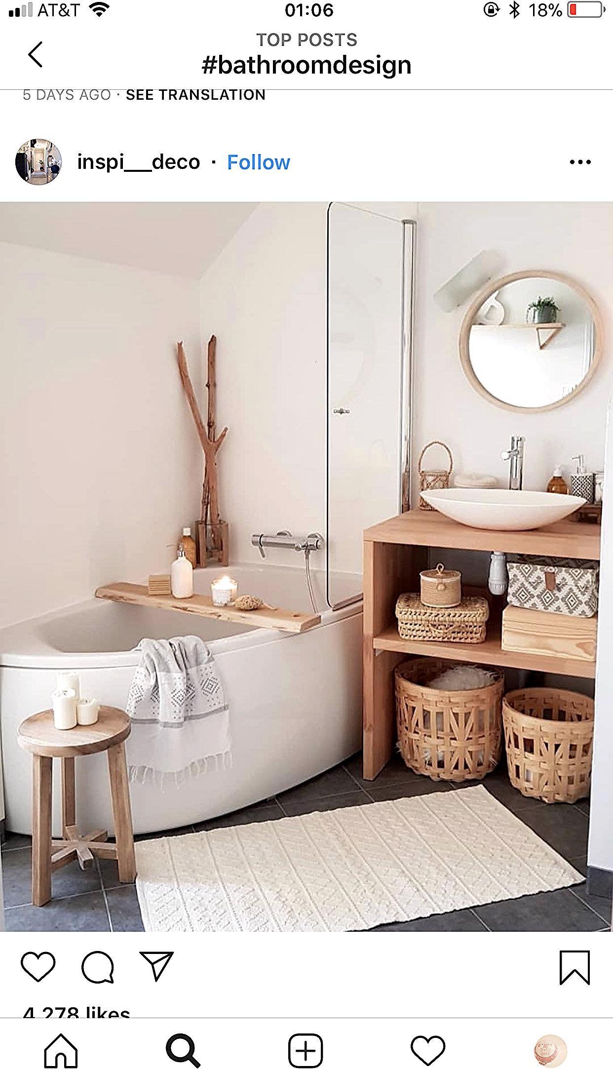 Tabouret De Salle De Bain By Susie Hermiston In 2020 Apartment Bathroom Design Bathroom Design Decor Amazing Bathrooms