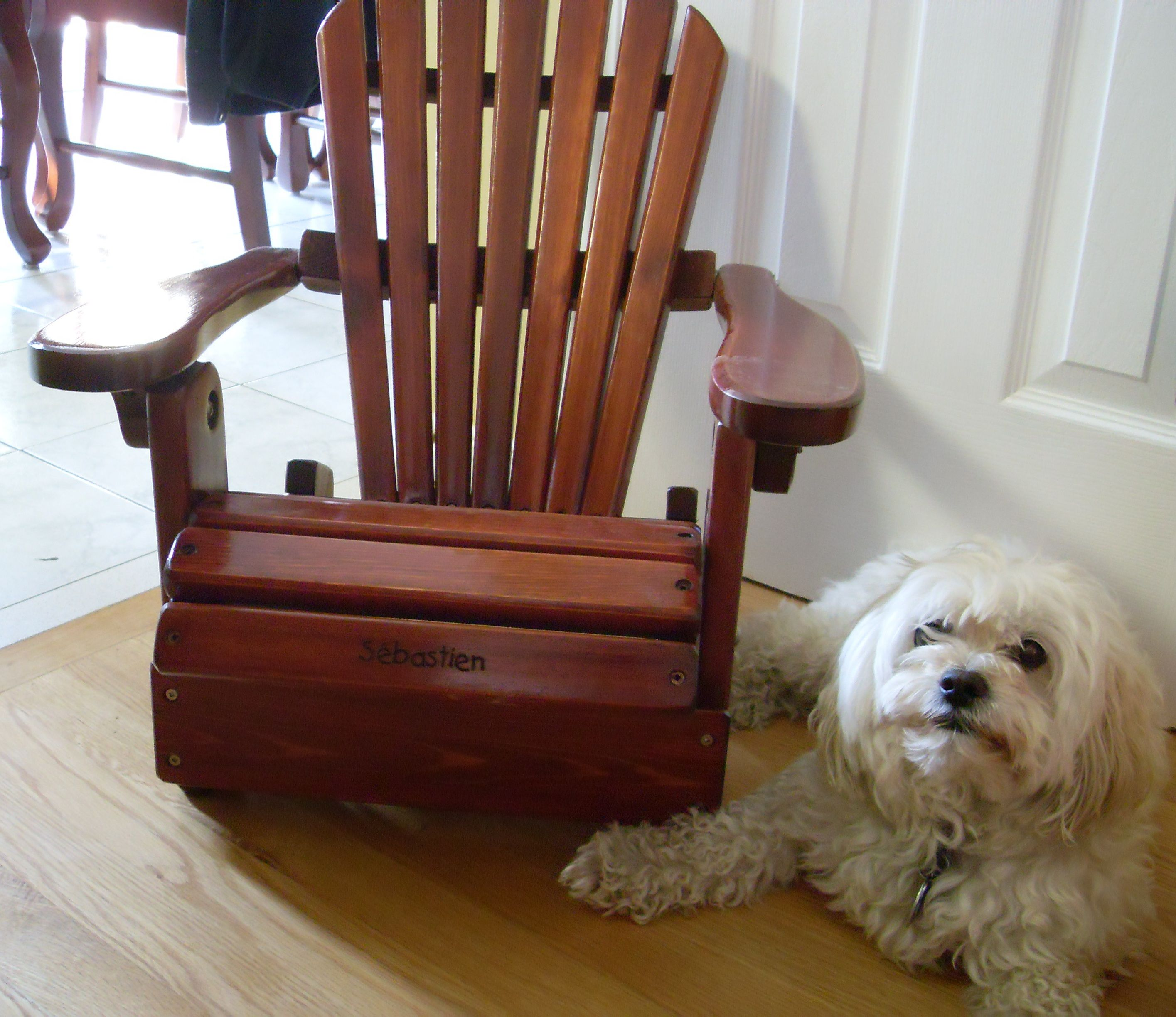 Personalized Childrenu0027s Adirondack Chairs Are A Great And Original Gift  That Can Be Customized With The