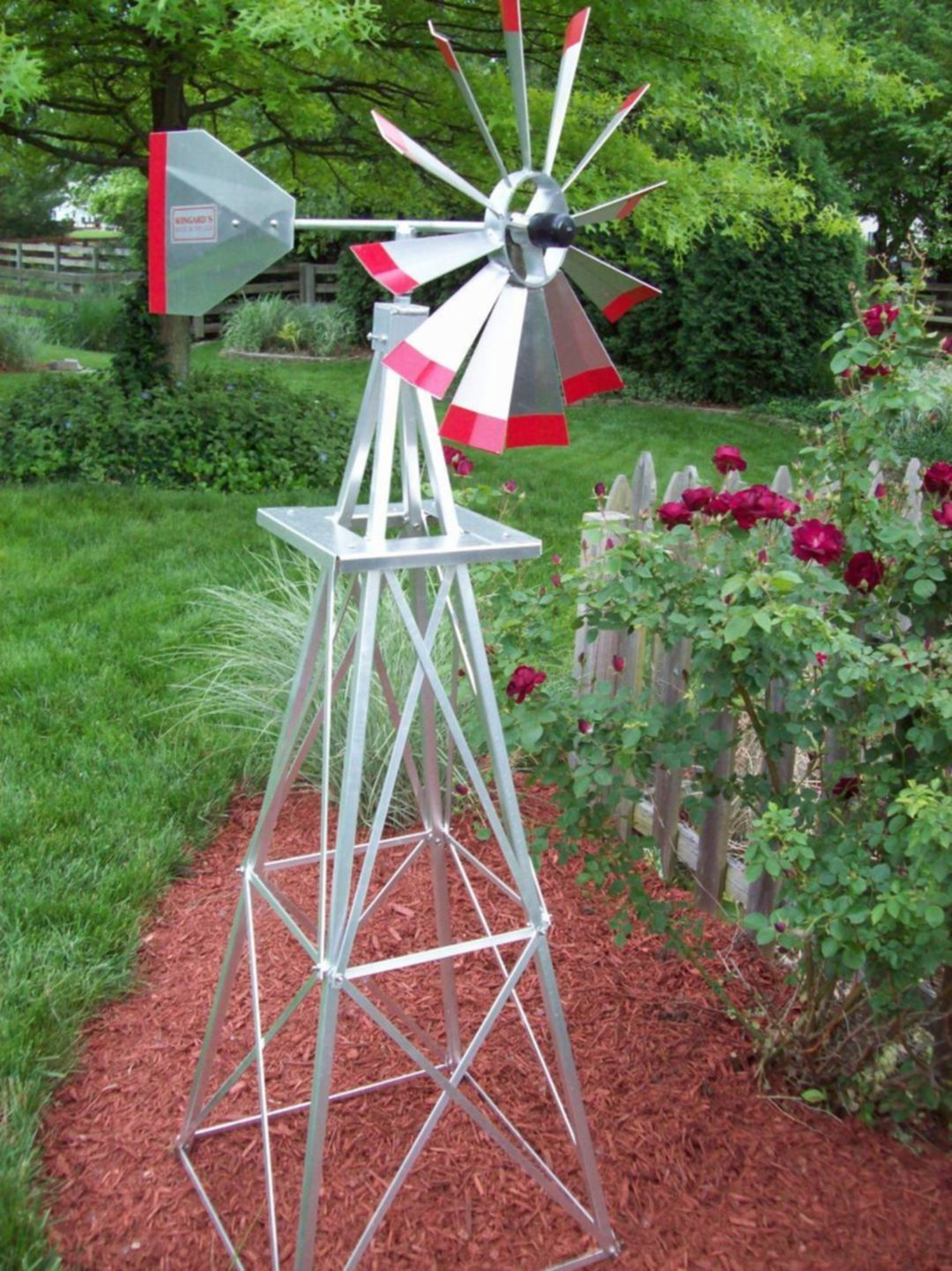 Stunning 25 Diy Gothic Yard Decoration Ideas For Your Garden Windmill Decor Backyard Windmill Garden Windmill