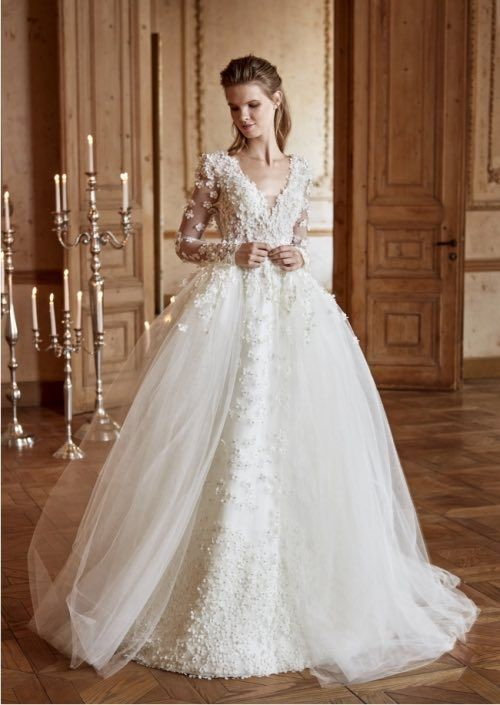 Ball Gown Wedding Dresses Picture Description Tarik Ediz White Collection Www