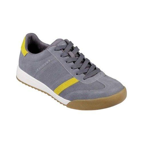 Men's Skechers Zinger Wildview Sneaker GrayYellow High