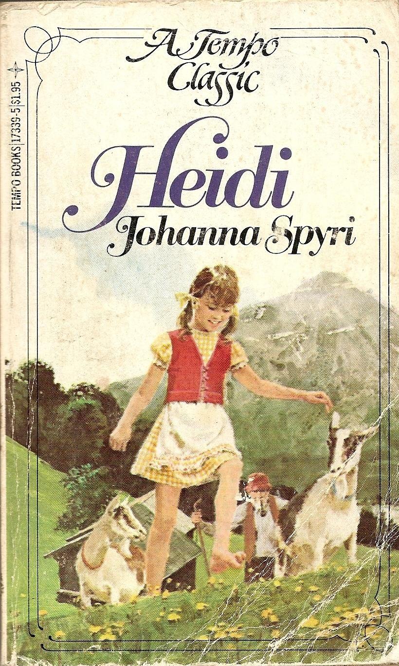 Spyri book heidi by johanna