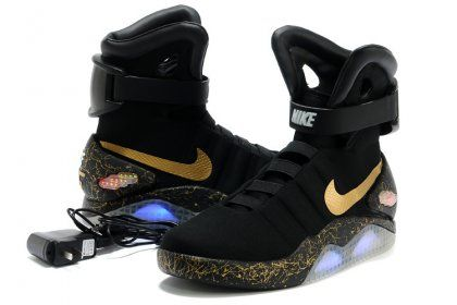 designer fashion a32e7 668b4  280 Black Nike Air Mag for men size us8-us12 on sale. Email  fashionstoreunion
