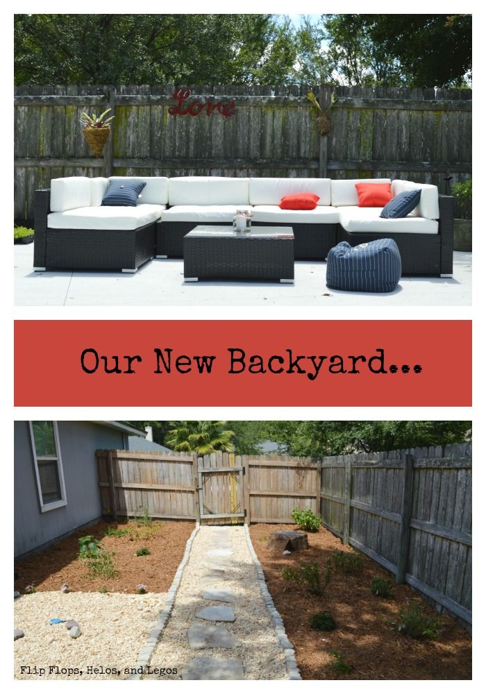 Our New Backyard...