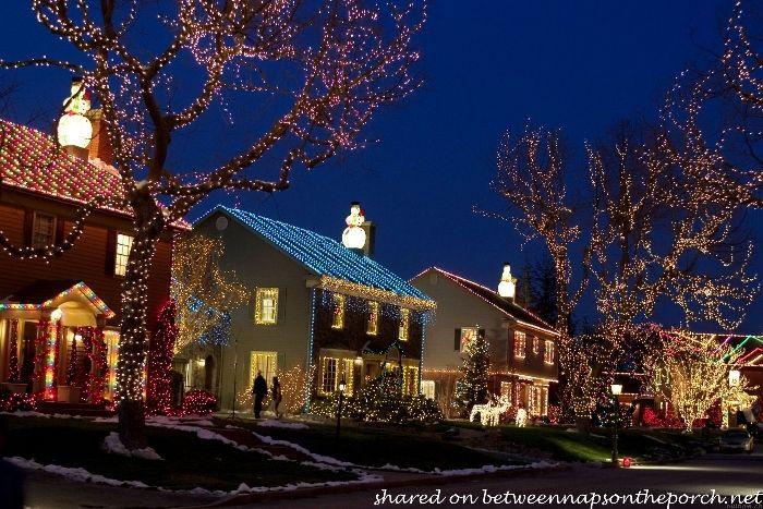 The Christmas Movie House Tacky Light Tour Christmas With The Kranks Outdoor Christmas Lights Outdoor Christmas