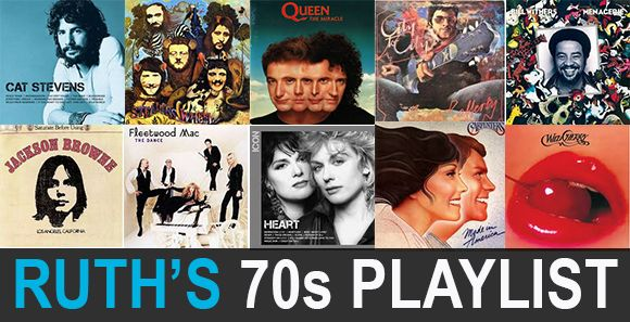 Nostalgic when it comes to your playlists? Our rockin' leader Ruth Zukerman threw a 70s flashback theme ride featuring all her favorite songs. Check out the playlist below and visit us on Spotify to hear more.