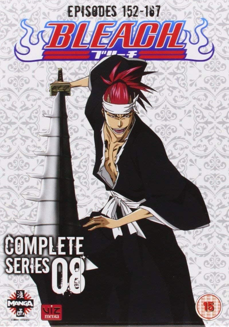 Bleach complete series 8 episodes 152167 dvd by