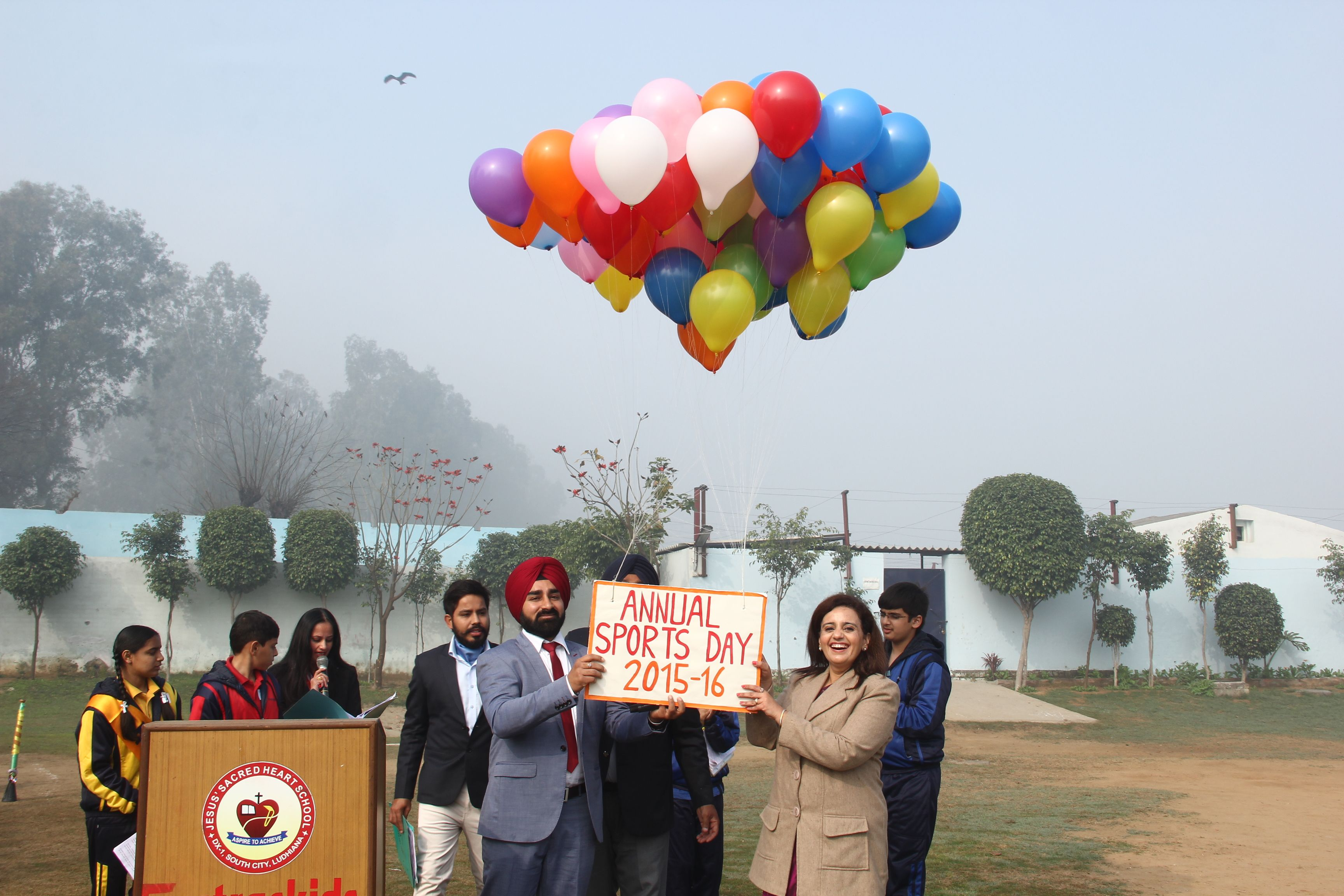 Inauguration of our Annual Sports Day