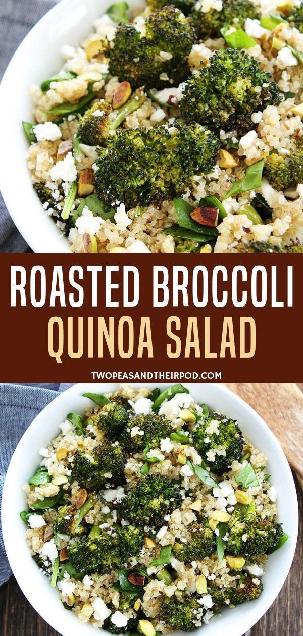 Photo of Roasted Broccoli Quinoa Salad