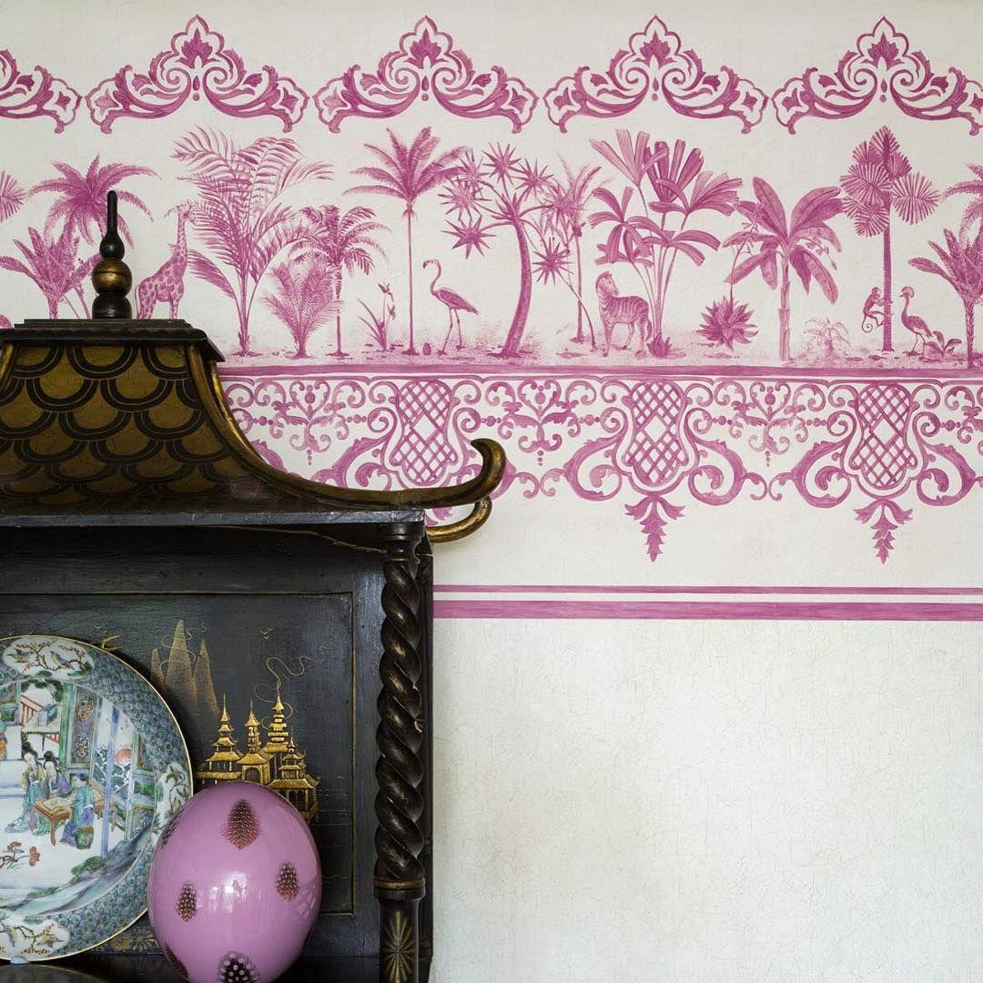 Rousseau Wallpaper Pattern wallpaper, Wallpaper
