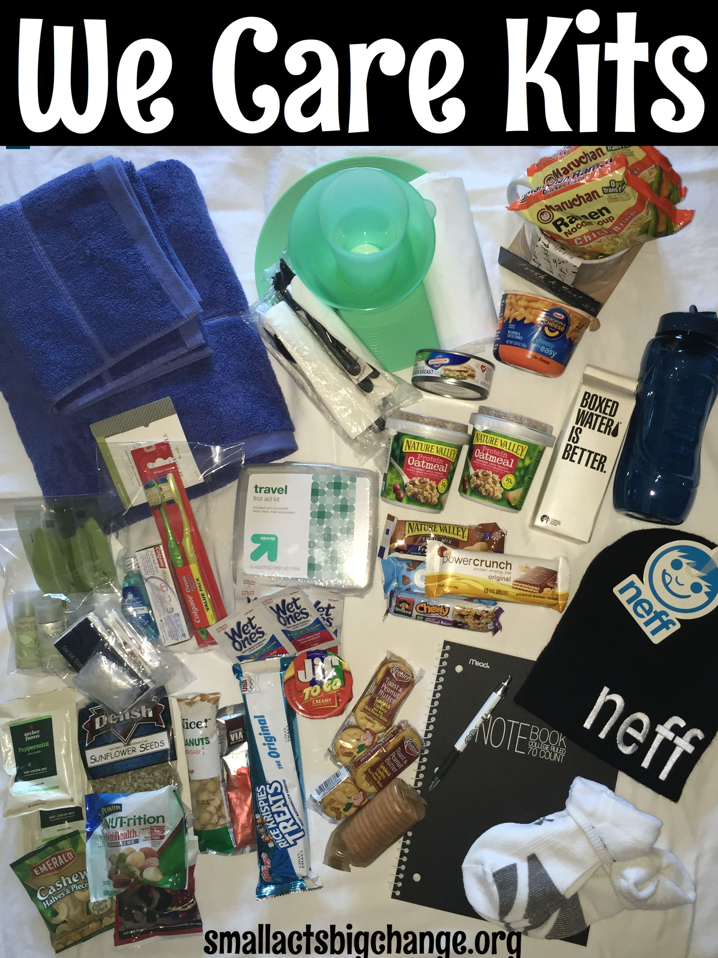 Over A Quarter Of A Million People Are Homeless In Los Angeles During Some Part Of The Year To Give Childre Blessing Bags Homeless Care Package Homeless Bags