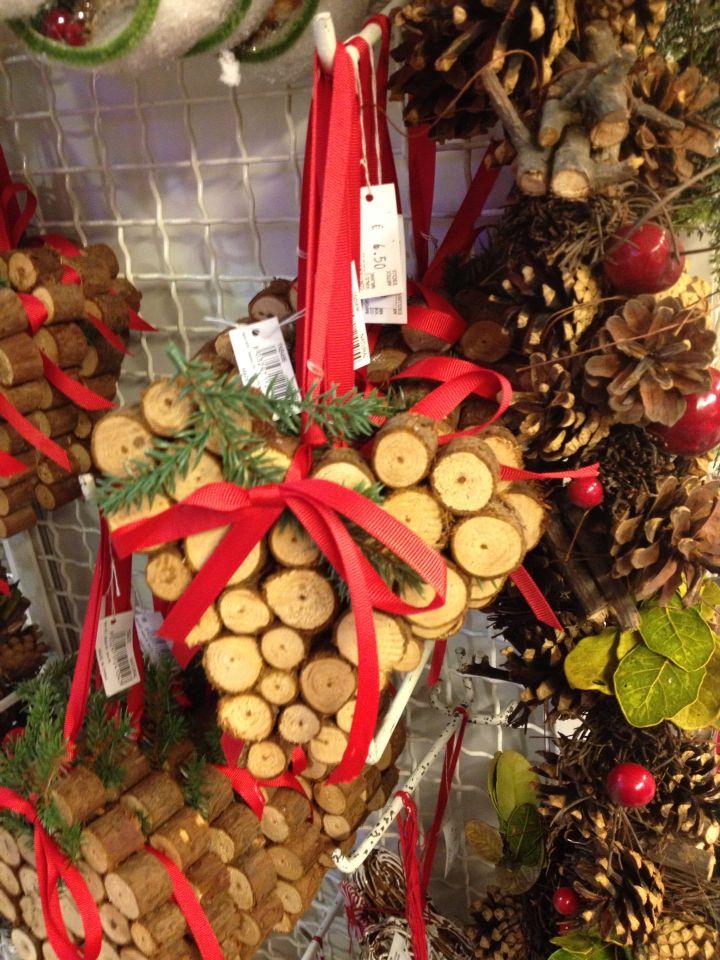 Decorazioni di Natale in legno