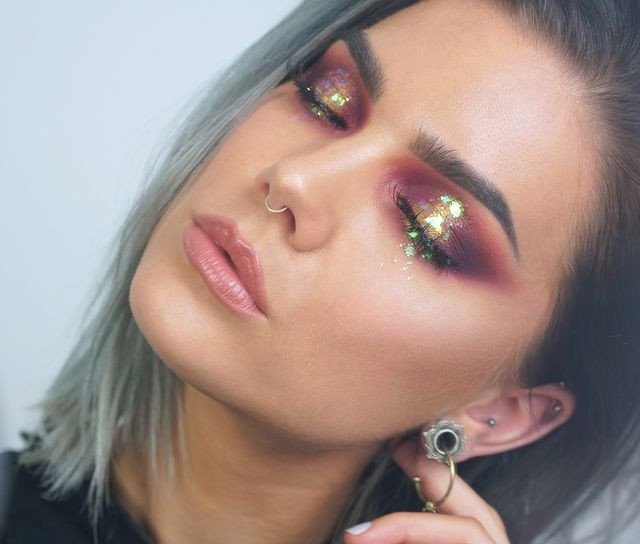 Photo of Dagens utseende   Iriserende diamant (Linda's Makeup Blog)