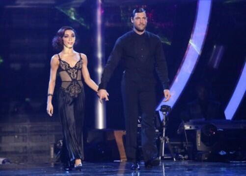Great dance right here!!! And got a perfect score!! @Meryl_Davis & @maksim cvetkovic #DWTS pic.twitter.com/aLUDKBMCQg