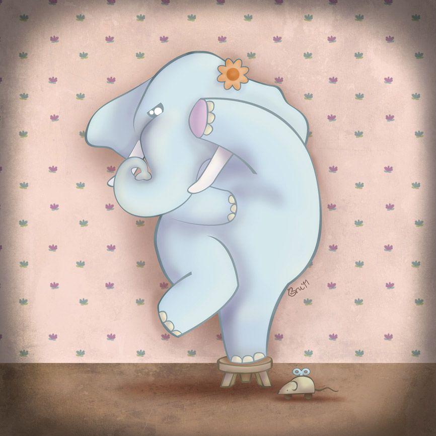 Cuento En Inglés Para Niños Elephant Amaranta S Fear Inglés Para Niños Juegos Ingles Infantil Libros Infantiles En Ingles