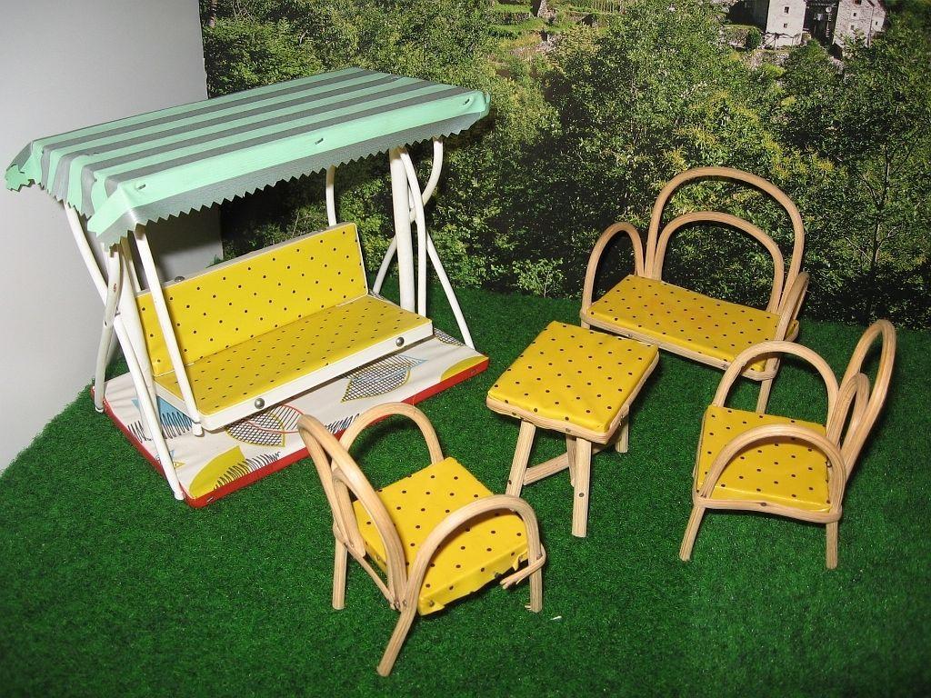 50er Jahre Terrassen-Möbel eBay | MOBÍLIA DE BONECAS | Pinterest ...