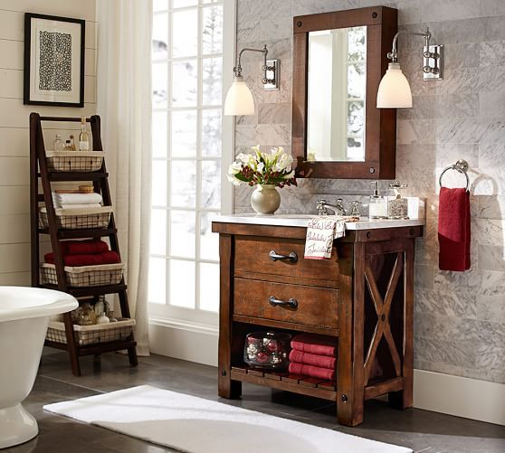 Benchwright 36 Single Sink Vanity Small Bathroom Decor Wall Mounted Medicine Cabinet Single Sink Vanity