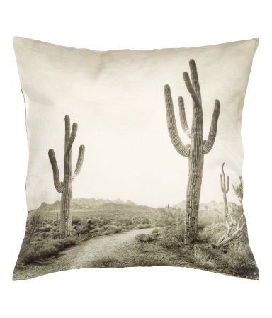 Cactus pillow from H&M home
