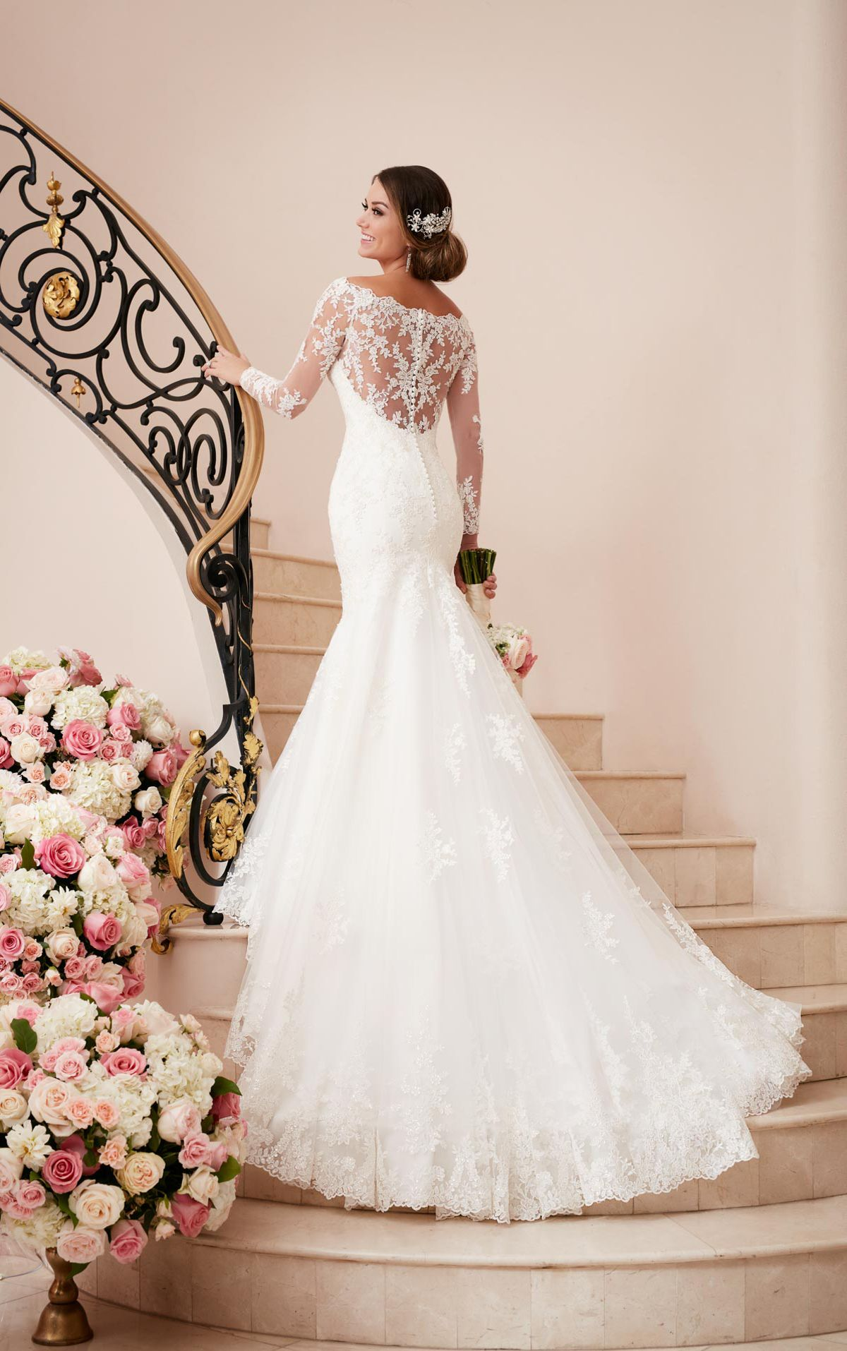 All of our beautiful gowns | Stella york, Fabric covered button and ...
