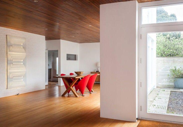 Hedley Greentree midcentury modern house in Hampsire UK, white ...