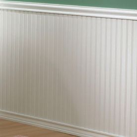 Evertrue 32 Paint Grade Mdf Edge And Center Bead Wainscot Lowe S Beadboard With Tongue Groove Pane White Wall Paneling Dining Room Wainscoting Wainscoting