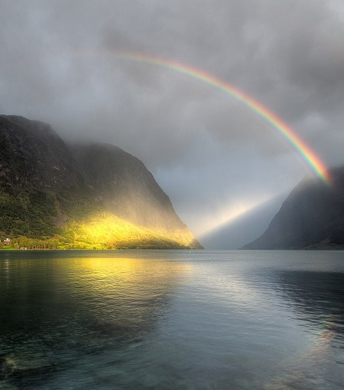 """""""Rowing in Eden--/Ah, the Sea!/Might I but moor--Tonight/In Thee!"""" --Emily Dickinson Spotlight - Norway"""
