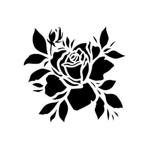 Cerna Ruze Tattoo Semi Permanent Tattoos By Inkbox Semi Permanent Tattoo Permanent Tattoo Black Rose Tattoos