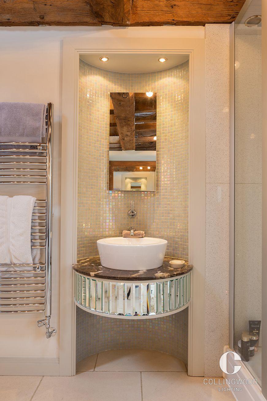 Bathroom lighting inspiration led downlights mirror lighting matthew smith architectural photography
