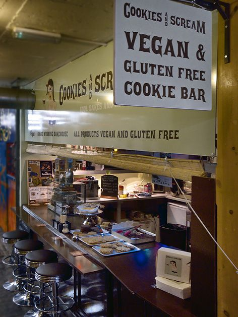 Amazing All Vegan And Gluten Free Cupcakes And Bakes Cookies And Scream Unit L1 Dingwalls Galle Gluten Free London Vegan London Gluten Free Restaurants