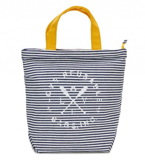 LOVE Reusable Bags Insulated Canvas Cooler Lunch Tote | Reuseit