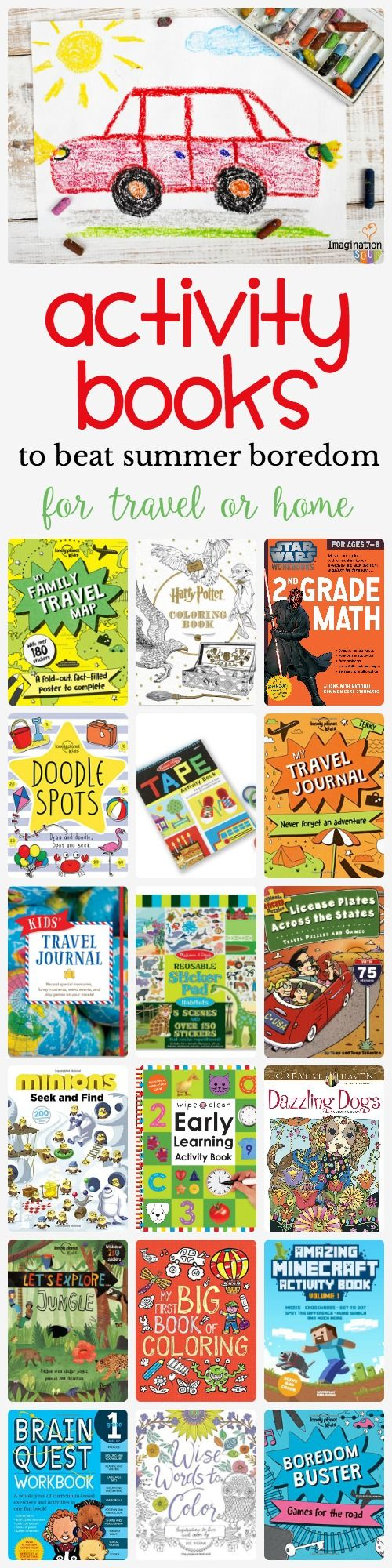 Childrens educational coloring activity book - Coloring Activity And Travel Books For Kids