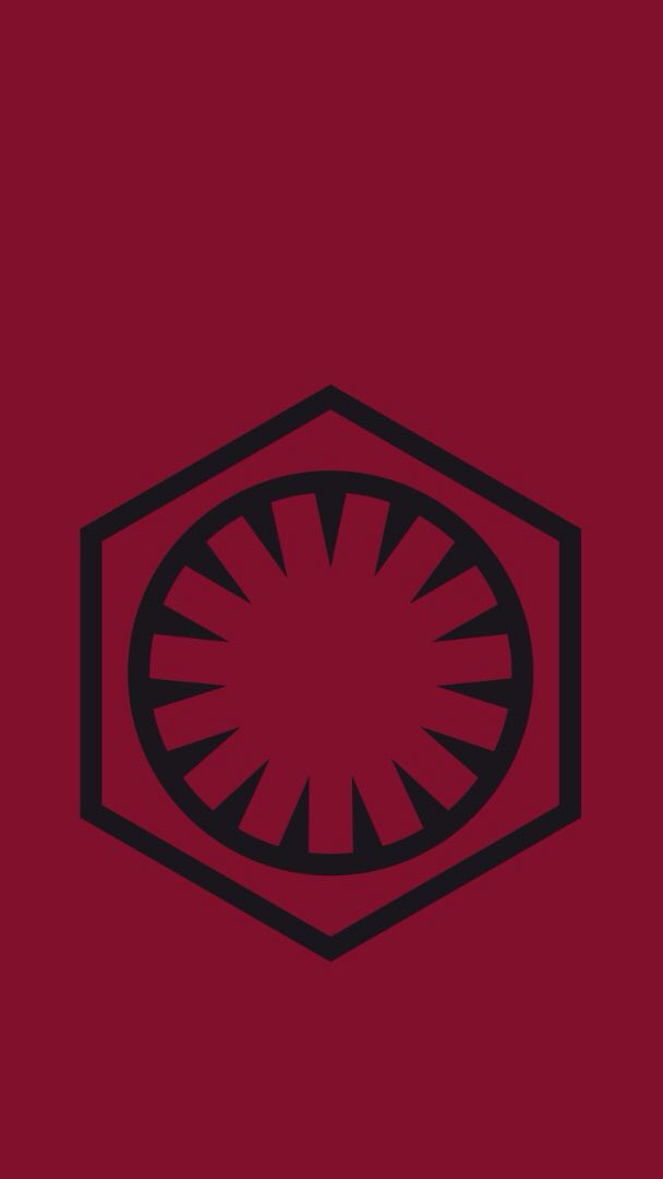Star Wars Vii The Force Awakens The First Order Symbol The New