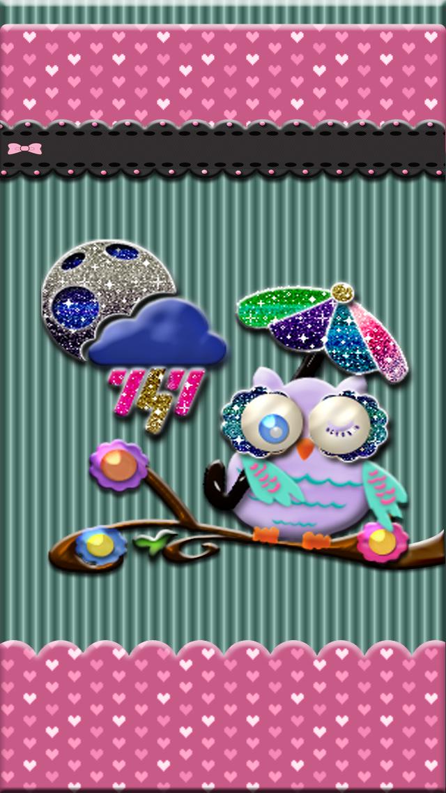 Iphone 5 Wallpaper Girly Owl Hello Kitty I