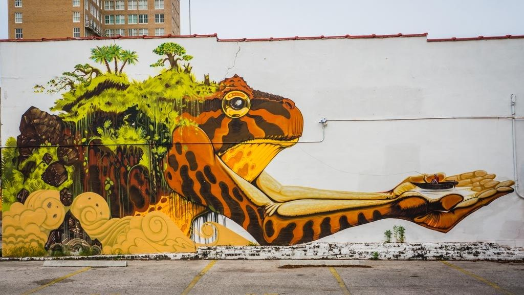Visiting Jacksonville Fl The Jax Of All Trades Murals Street Art Street Art Photo Art