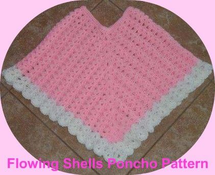 Crochet Pattern Central Free Poncho Crochet Pattern Link Directory