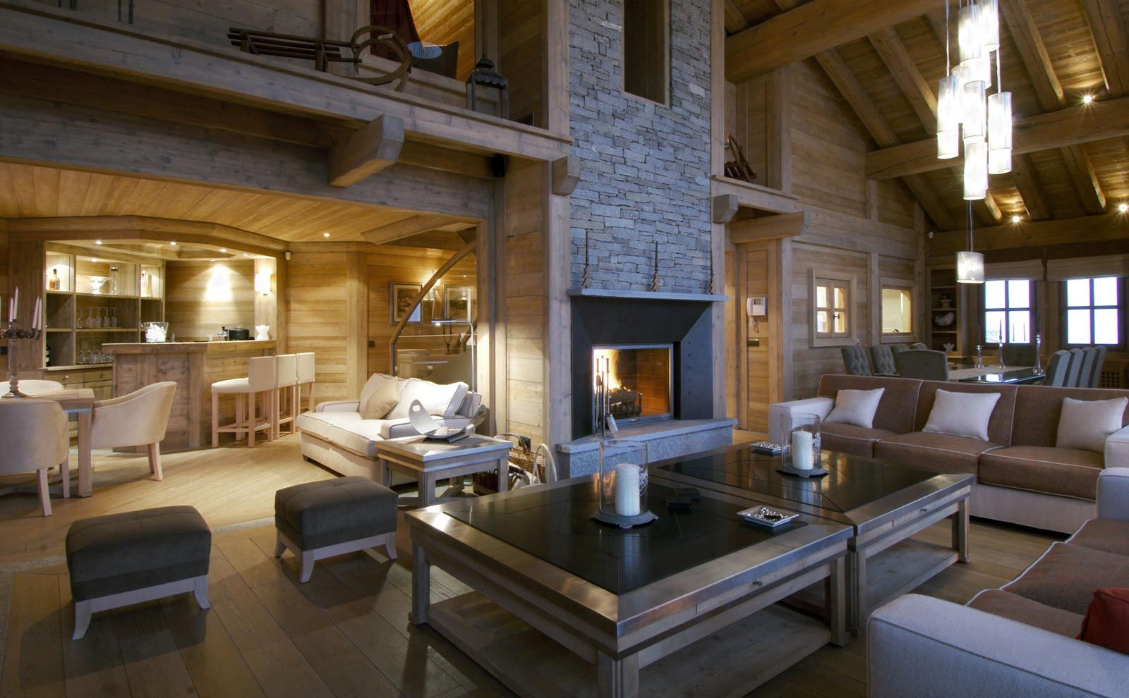 Decoration Moderne Montagne | Cozy And Stylish Mountain Chalets ...