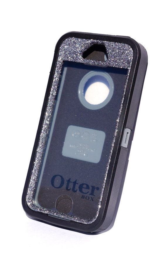 7d7d09fd644 Otterbox Case iPhone 5/5s Glitter Cute Sparkly Bling Defender Series Custom  Case Black/